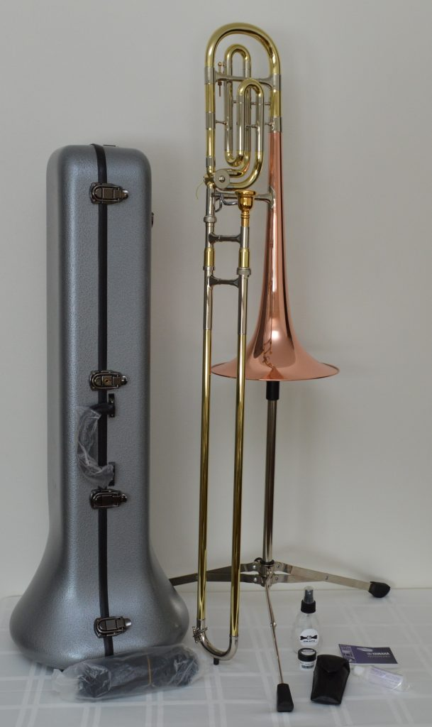 Reynolds TO-02 Contempora single rotor Bass Trombone